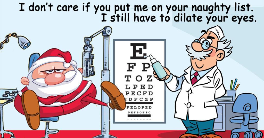 santa-eye-exam