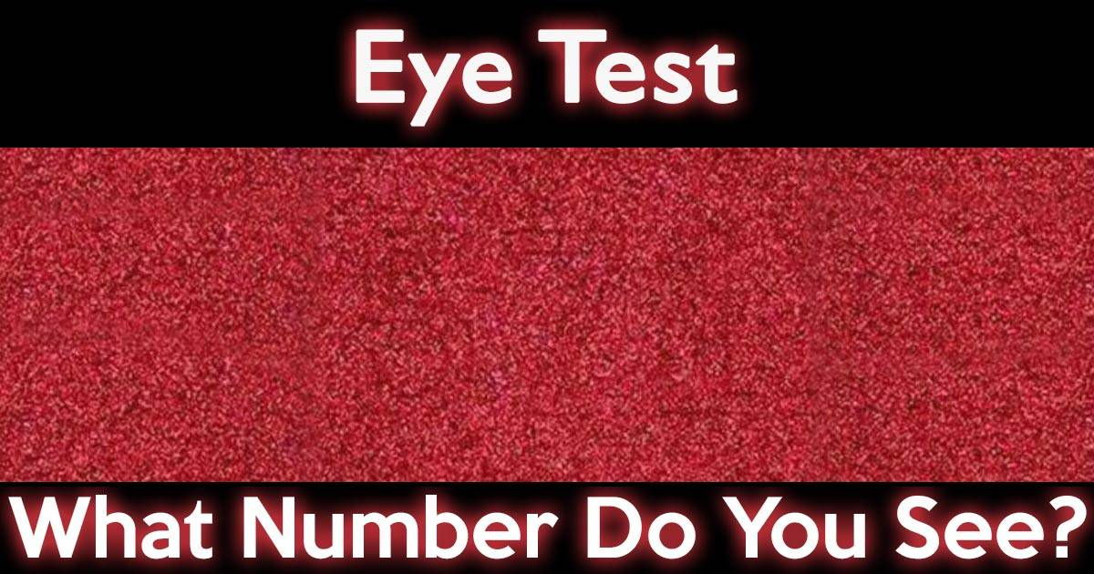 Disclaimer: This test is for amusement purposes only. It is not meant to diagnose or treat any eye related health or vision conditions. Privacy Policy Try Our Other Quizzes! OCD… continue reading •••