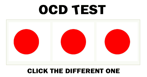 Disclaimer:*This test was created for amusement and is not diagnostic in any way.Privacy PolicyTry Our Other Quizzes! 22 Million Have Played Eye-Q Color Quiz Comments  h1.entry-title{text-align: center;display: none;}To OCD free… continue reading •••