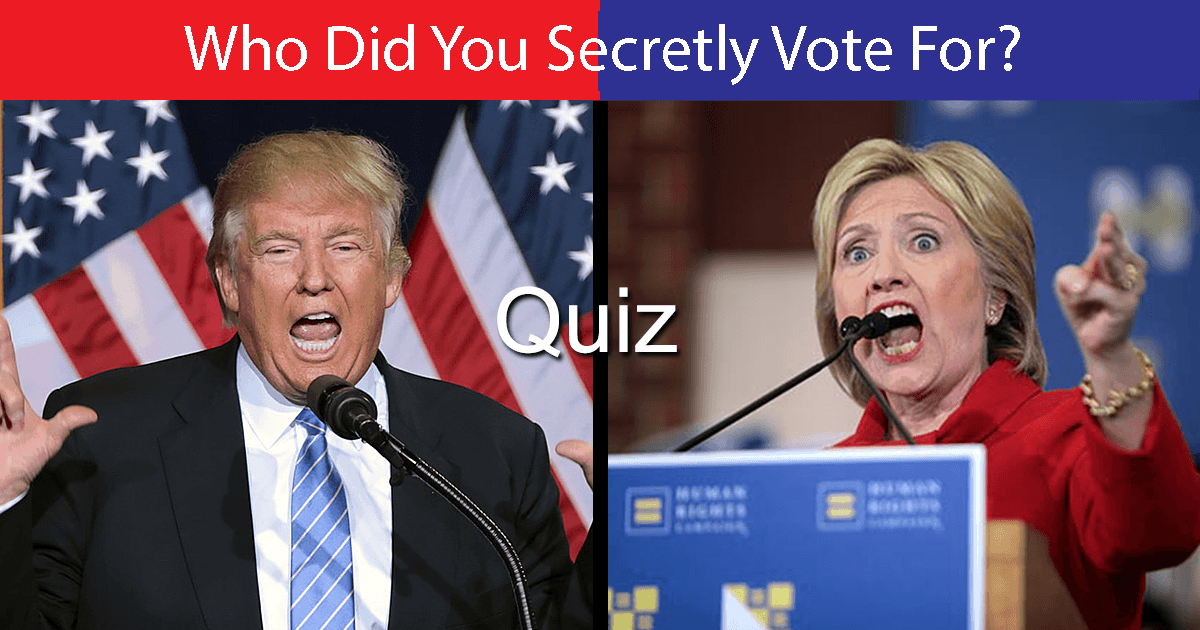 Who Did You Secretly Vote For?