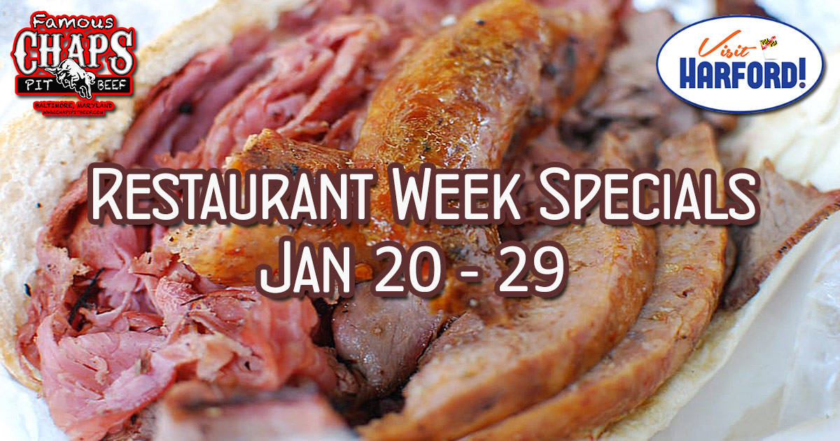 Harford County Restaurant Week Menu – Chaps Pit Beef