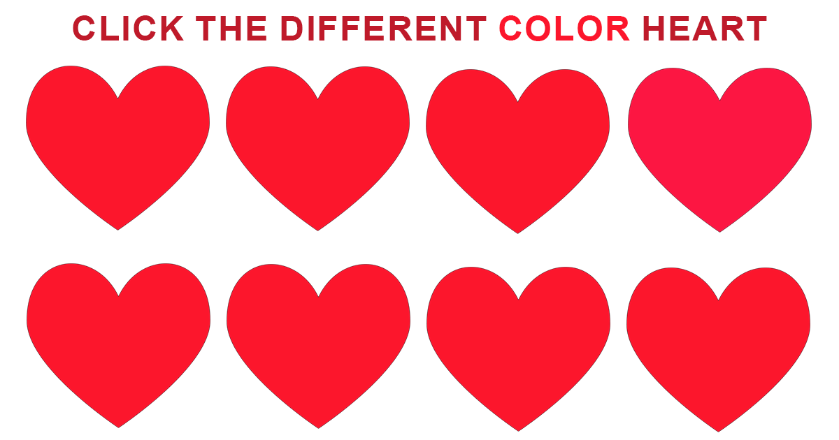 This is a fun little color test to see how well your eyes differentiate between subtle color variations. Let's see how your eye's stack up against the competition. Disclaimer: This test… continue reading •••