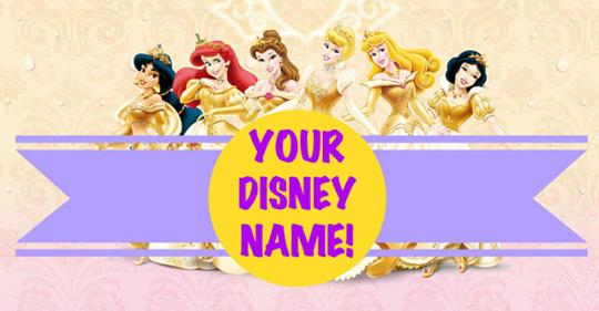 What Is Your Disney Princess Name?