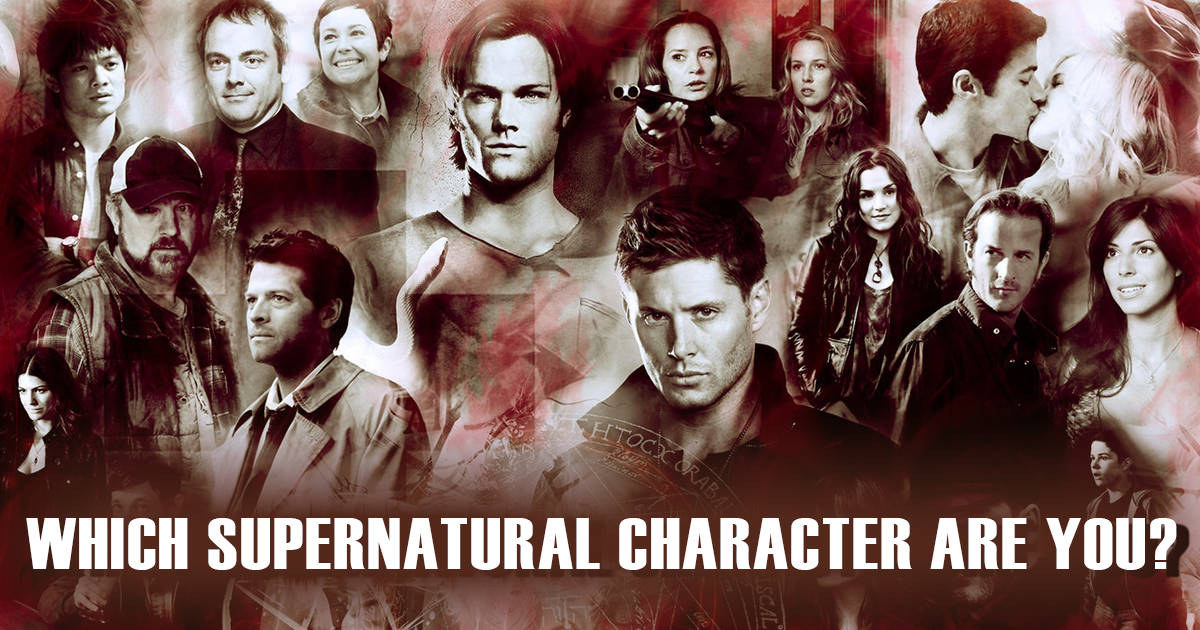 Which Supernatural Angel Are You?!  What Is Your Supernatural IQ?!  … continue reading •••