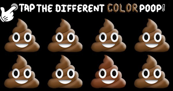 Can You Guess The Different Color Poop?