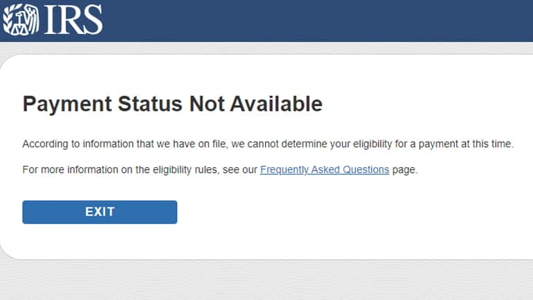 "The Internal Revenue Service says its website is ""is operating smoothly and effectively,"" but some users are confused by an error message regarding their stimulus money.  Some users get a ""Payment Status Not… continue reading •••"